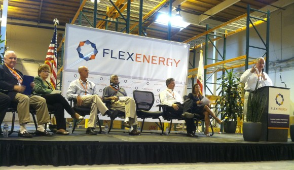 Irvine Business Resources: FlexEnergy Ribbon Cutting